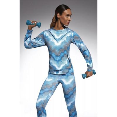 Толстовка с капюшоном для фитнеса свободного кроя Energy