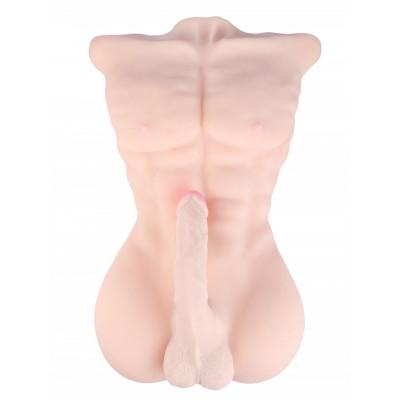 Реалистичный слепок мужского тела с фаллосом